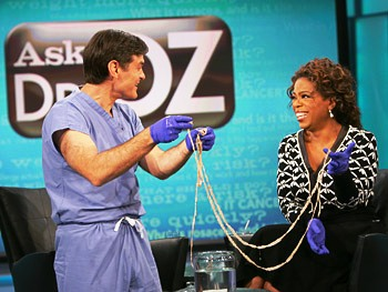 Dr. Oz, Oprah, and long Tapeworms